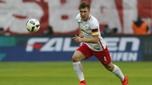 Willi Orban of RB Leipzig in the Bundesliga