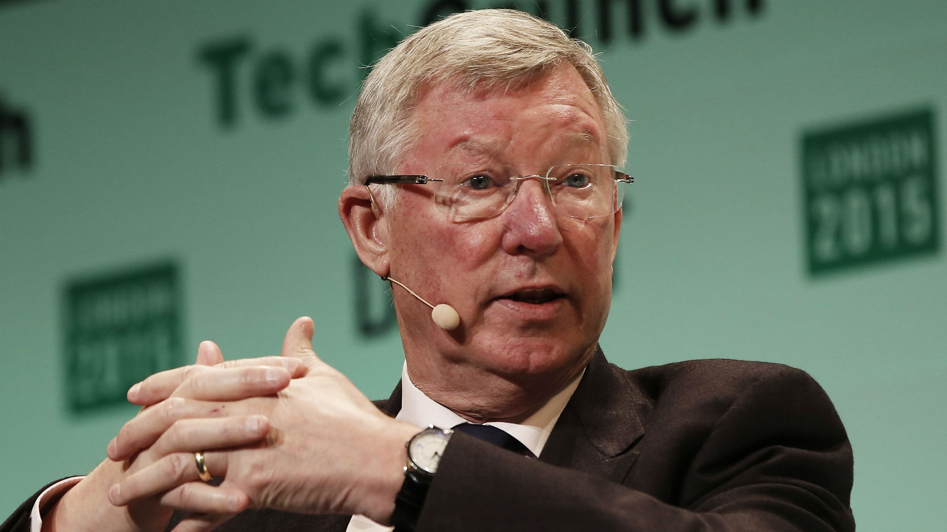 Alex Ferguson - former Man. Utd. captain