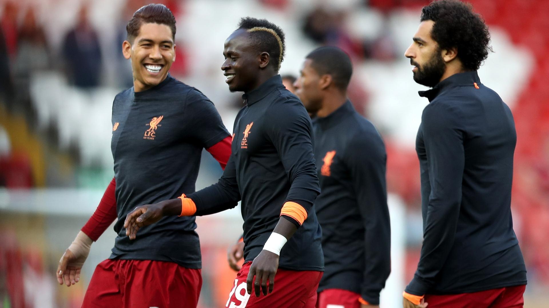 firmino mane salah of Liverpool