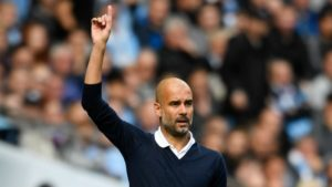 Guardiola Manchester City Shakhtar
