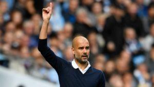 Guardiola Manchester City Shakhtar