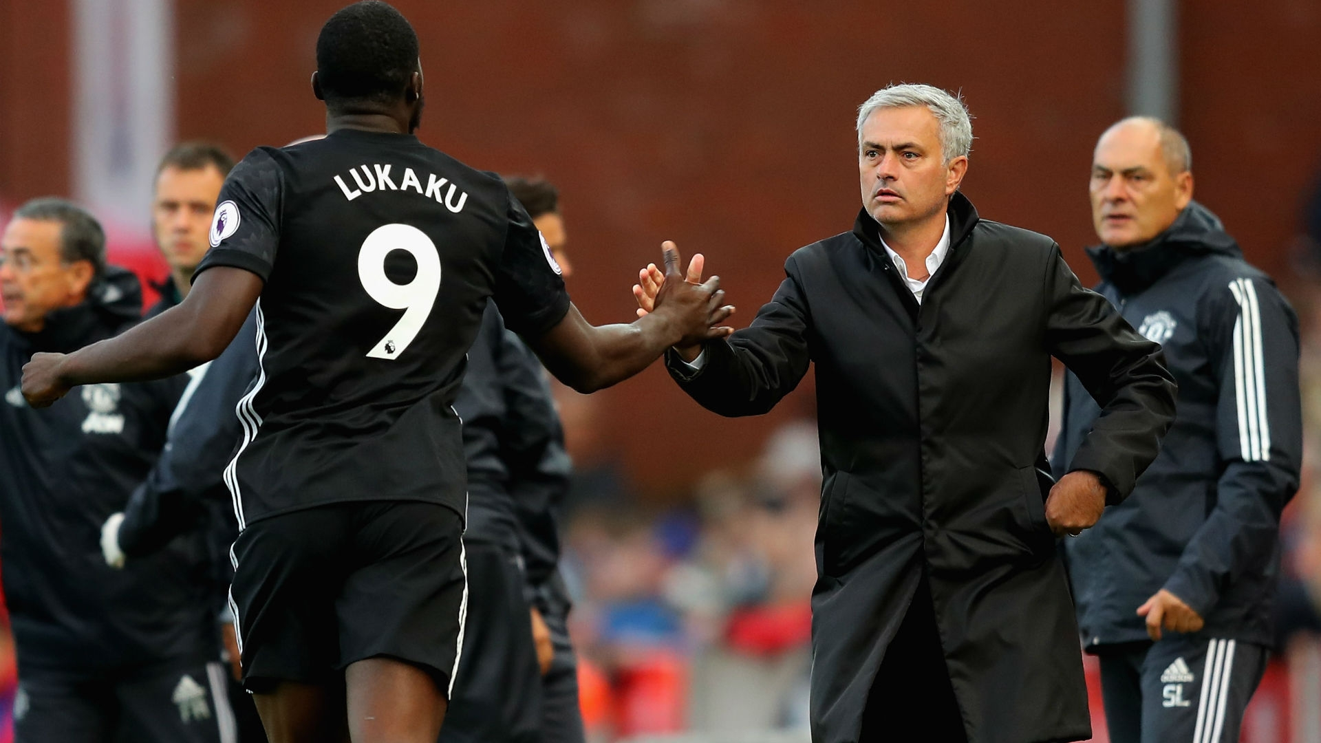 Jose Mourinho and Romelu Lukaku