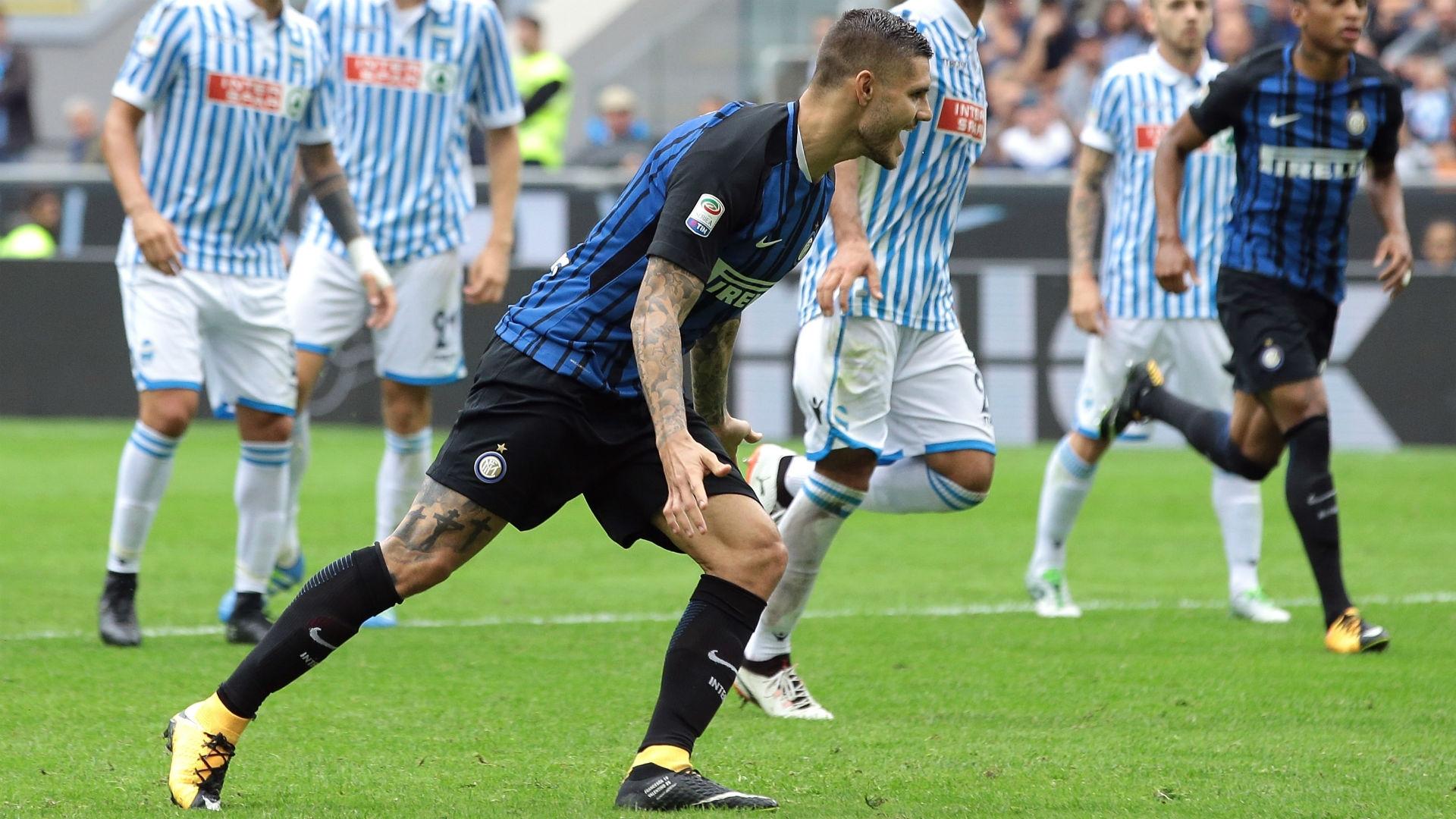 Mauro Icardi of Inter Milan