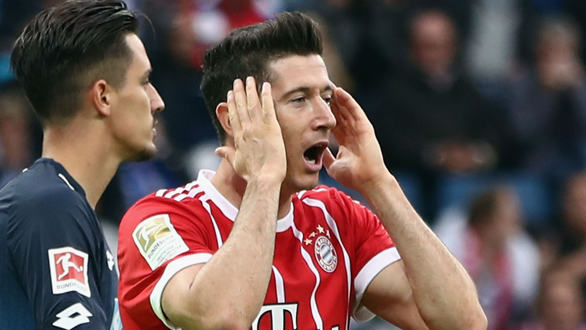 Robert Lewandowski, Bayern Munchen's striker