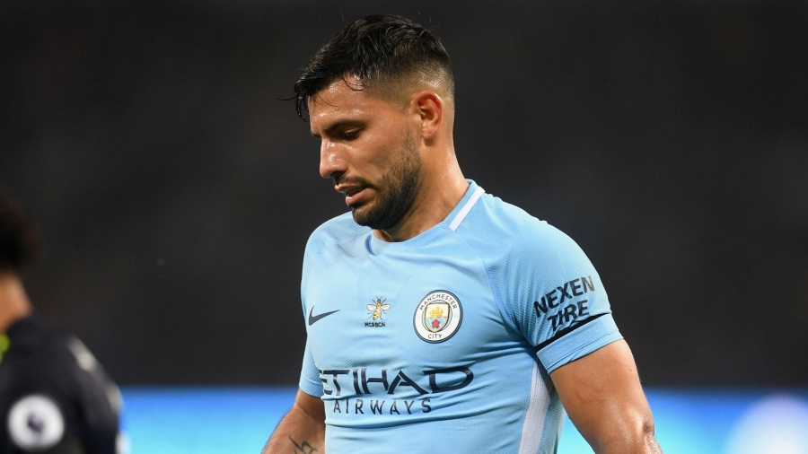 Sergio Aguero accident