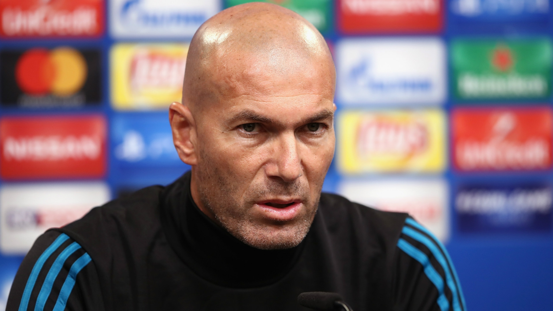 Zidane, manager of Real Madrid