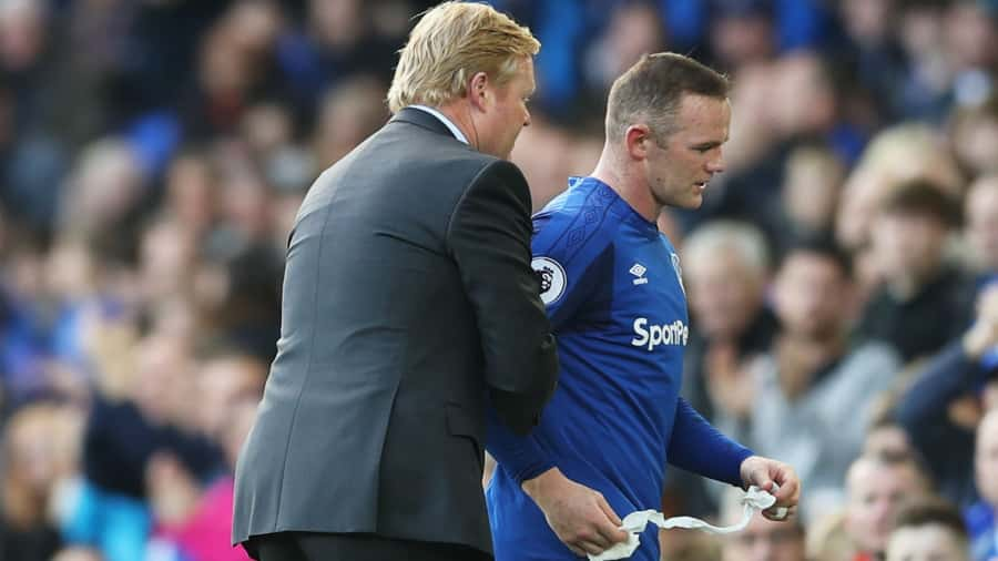 Rooney and Koeman