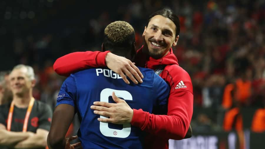Pogba and Ibrahimovic