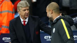 EPL's Wenger and Guardiola