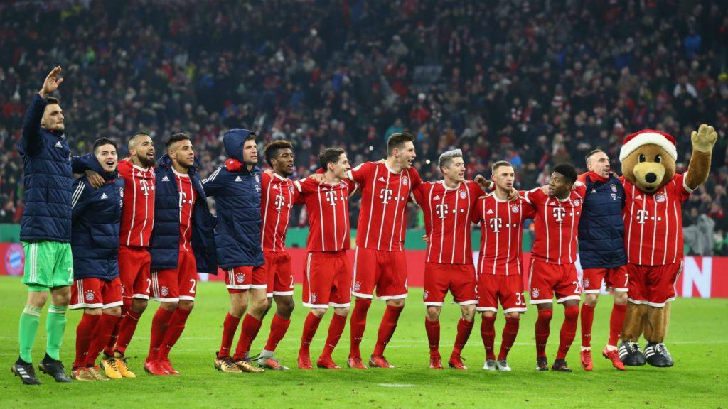 Bayern Munich best ever side?