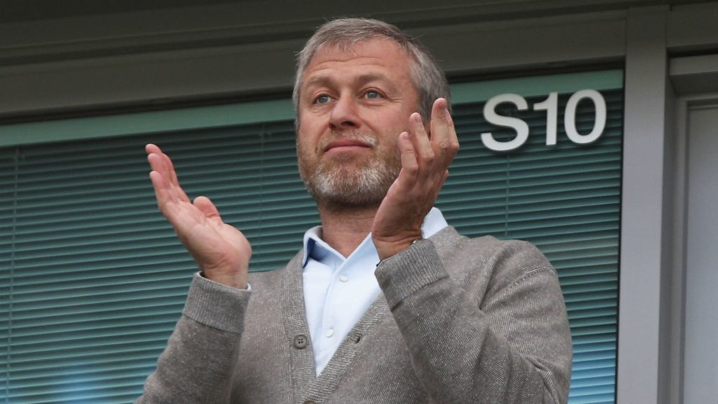 Roman abramovich and Chelsea among the top 100 richest football clubs