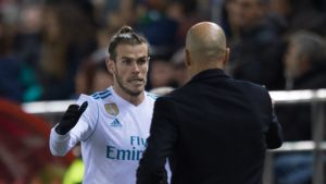 Gareth Bale and Zidane