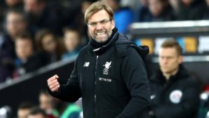 Jurgen Klopp angry with defeat Swansea victory over Liverpool