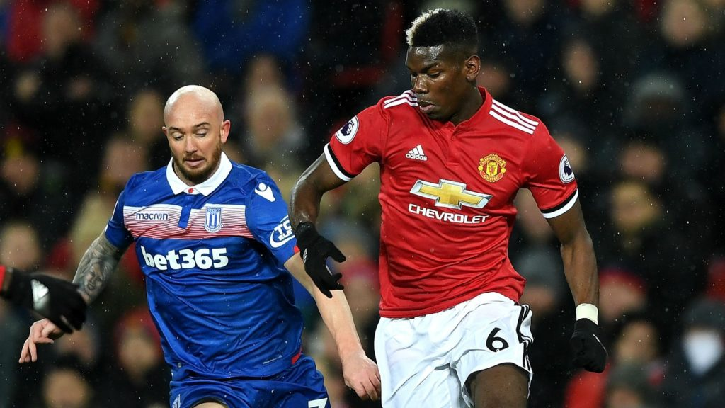 Paul Pogba top player in terms of assists in EPL