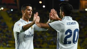 Ronaldo and asensio