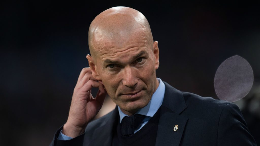 Zinedine Zidane facing firing squad after early Copa del Rey defeat