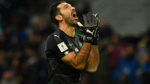 Giannluigi Buffon - keeper of Italy and Juventus