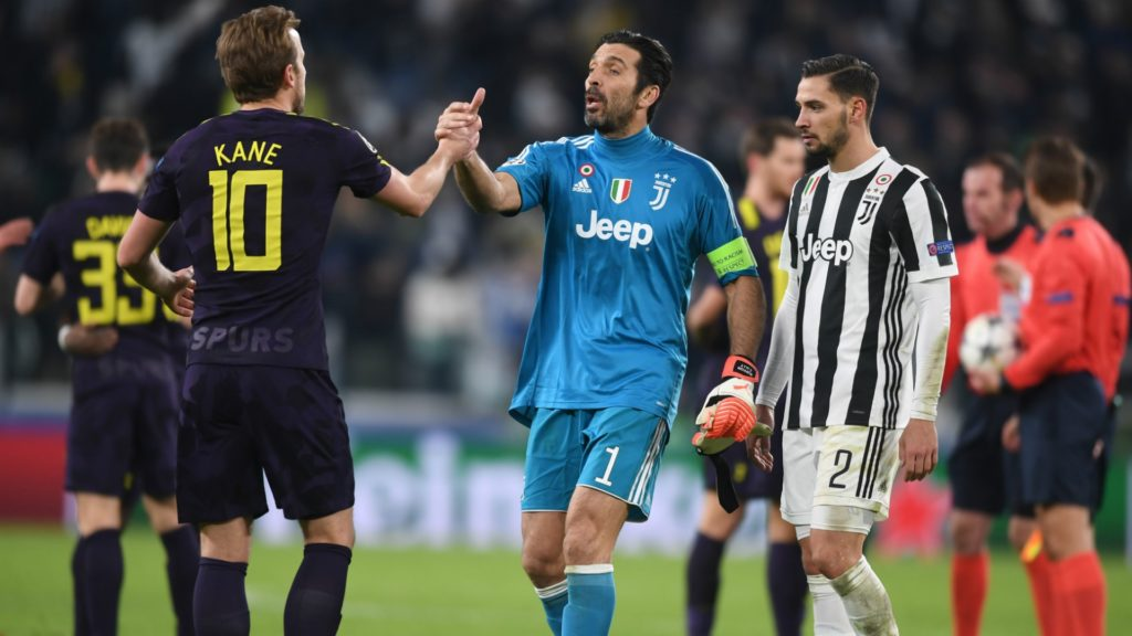 Tottenham and Juventus draw in Champions League clash