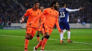 Mohamed Salah impressive once more in Porto - Liverpool