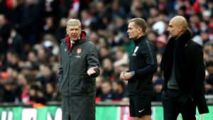 Wenger upset at fourth official referee