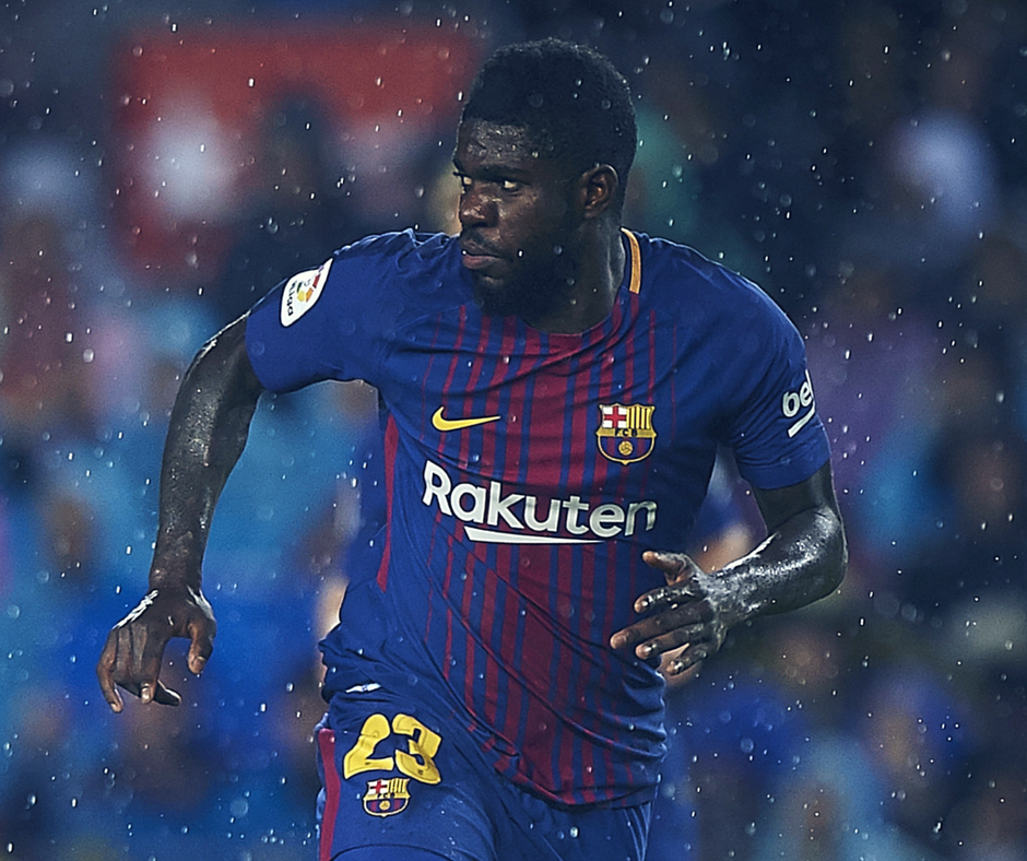Samuel Umtiti looks set to leave Barcelona following wage gap issues