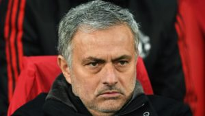 Jose Mourinho, not a happy manager