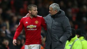 Jose Mourinho has expressed fresh criticism at his players. Luke Shaw was once again singled out
