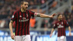Leonardo Bonucci scored against former team Juventus in one European Football's most exciting games