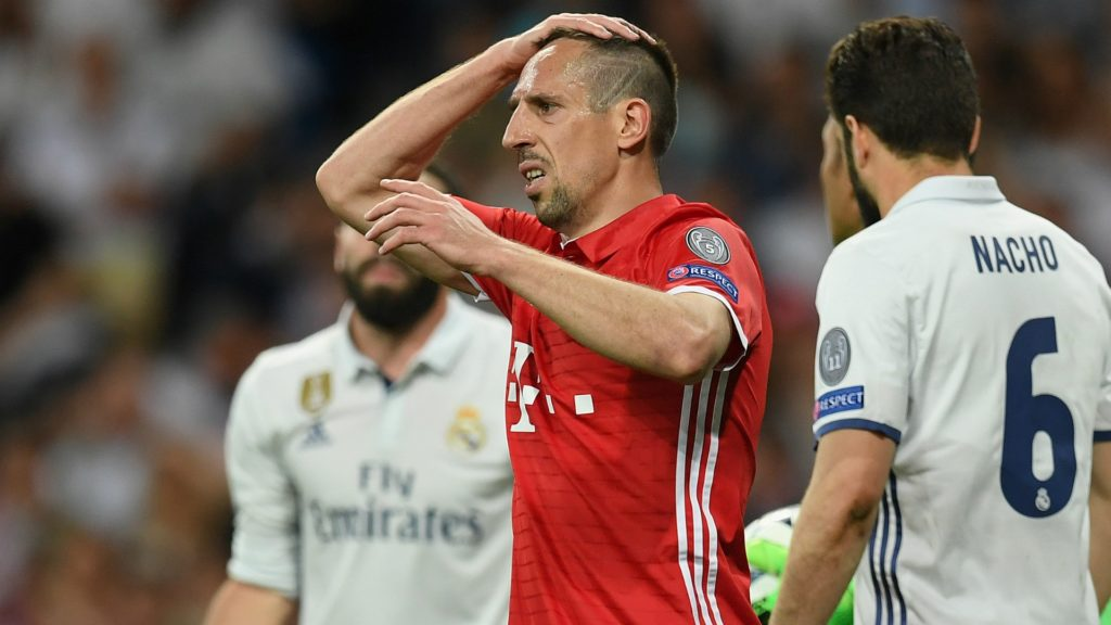 Franck Ribery - Bayern Munich facing Sevilla in Champions League clash