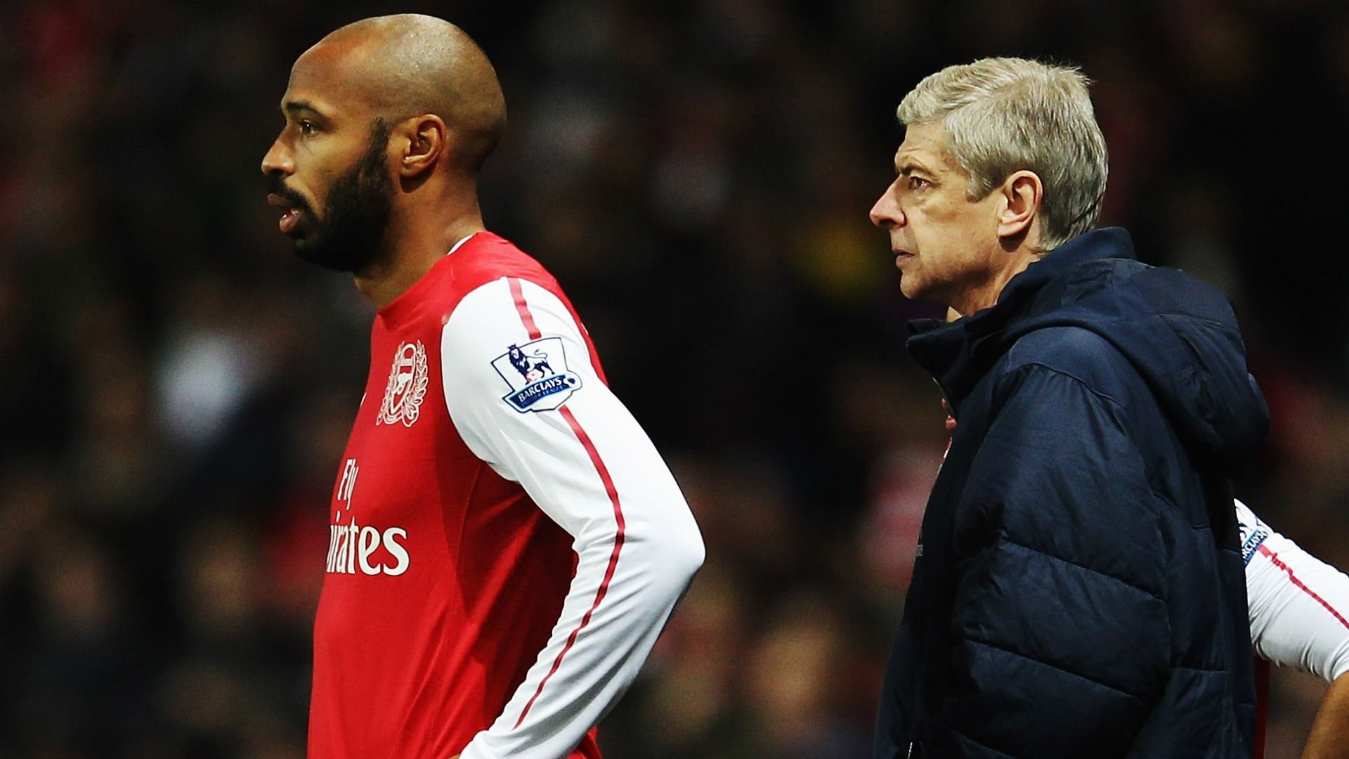 Wenger and Thierry henry