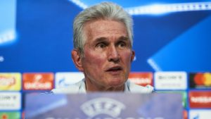 Jupp Heynckes - manager of Bayern, together with Real Madrid, one of the big winners of last night's ga,es