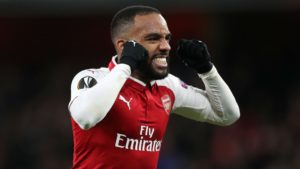 Alexandre Lacazette upset to have been substituted before he could score a hat-trick
