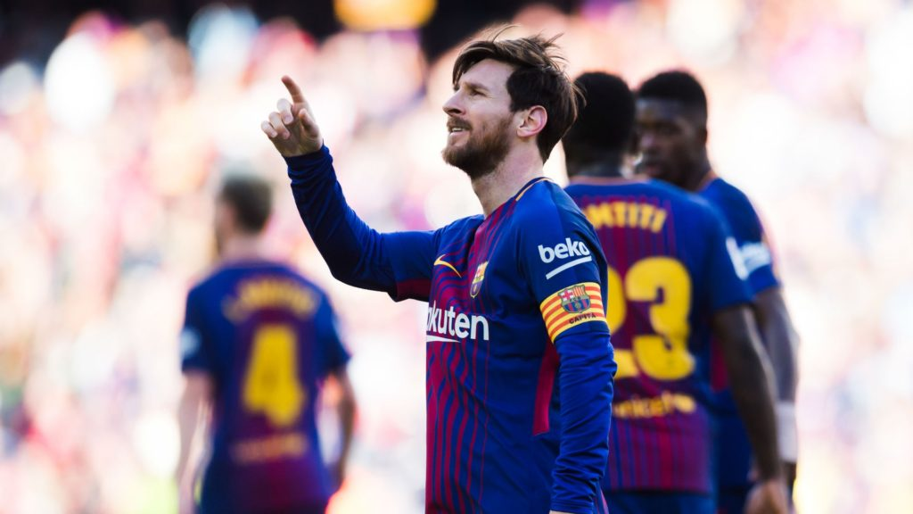 Lionel Messi to start for Barcelona against AS Roma