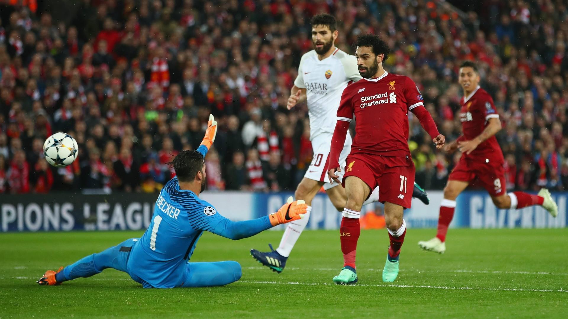 Mohamed Salah - former AS Roma player