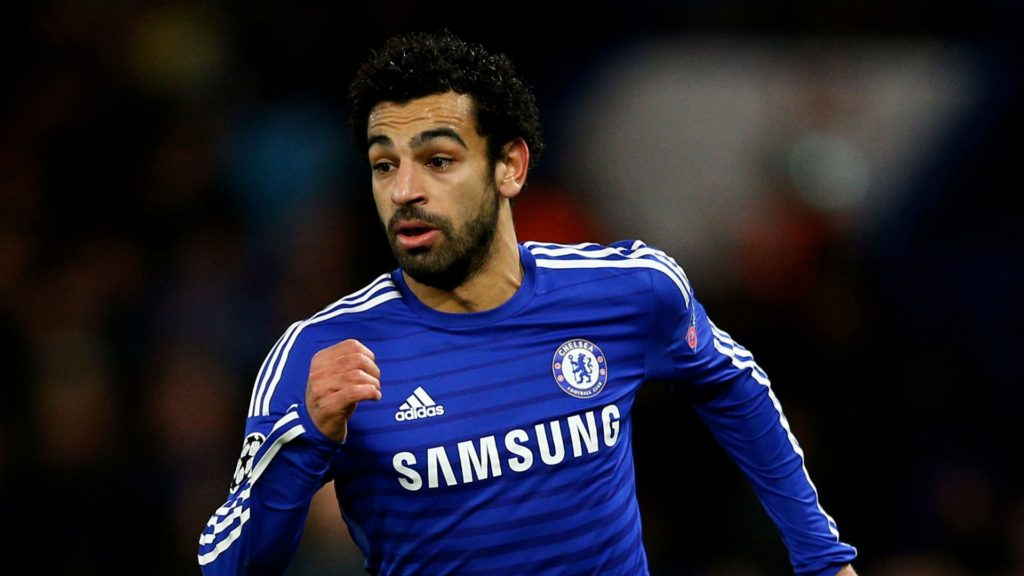 Mohamed Salah - former Chelsea player