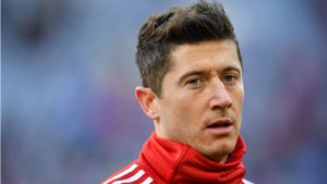 Robert Lewandowski - a free player card in Champions League semi-final games