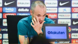 Andres Iniesta to leave Barcelona this summer. The Chinese Super League, Australian A-League and Japanese J-League among the possible destinations