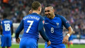 Griezmann to meet Payet in in Europa League final between Atletico Madrid and Olympique Marseille