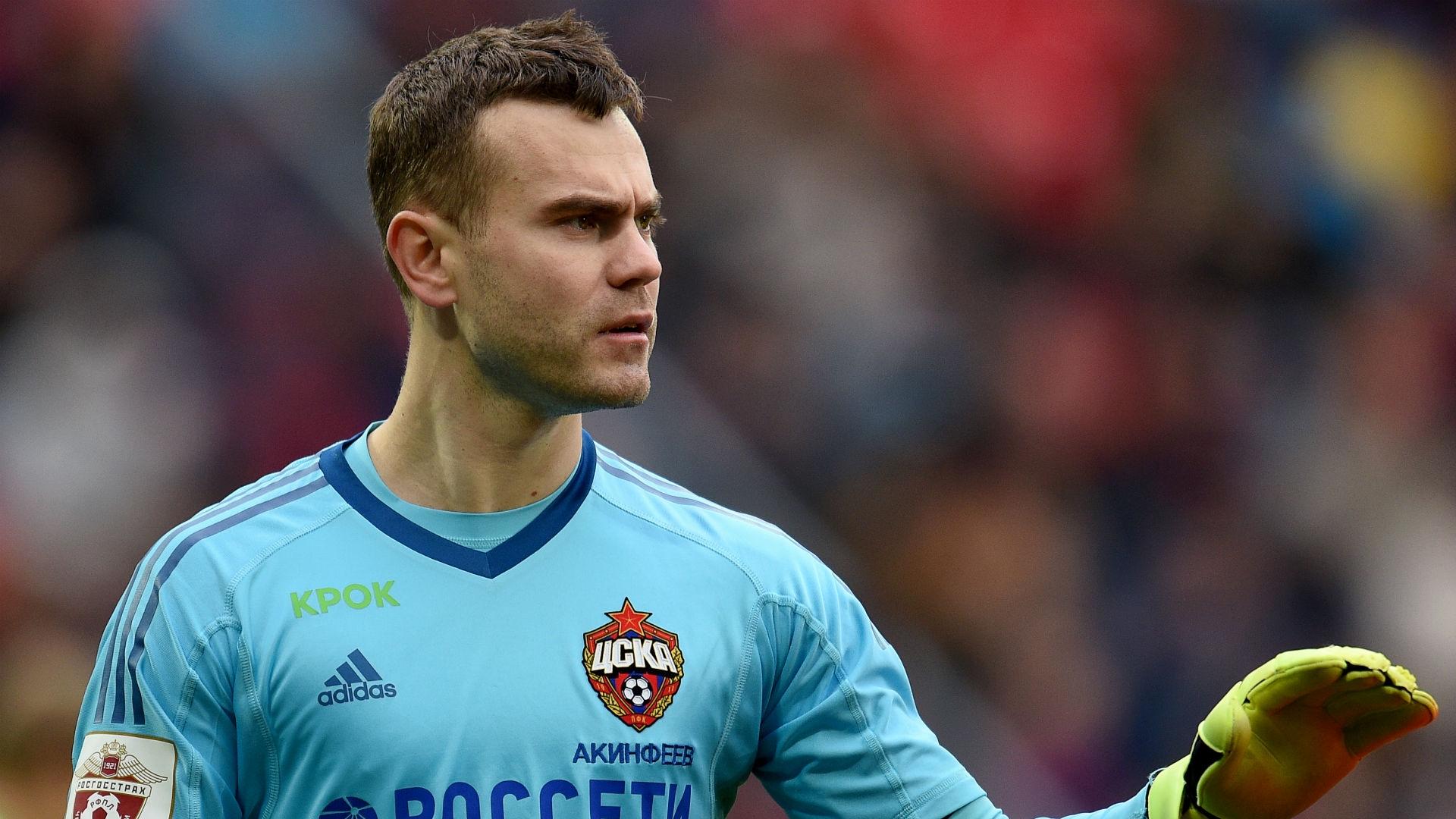 Igor Akinfeev (CSKA Moscow)