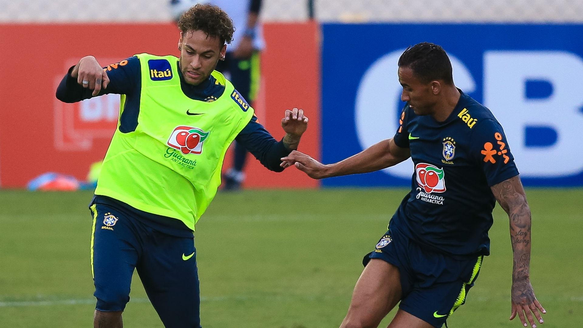 Neymar and Danilo - Brazil