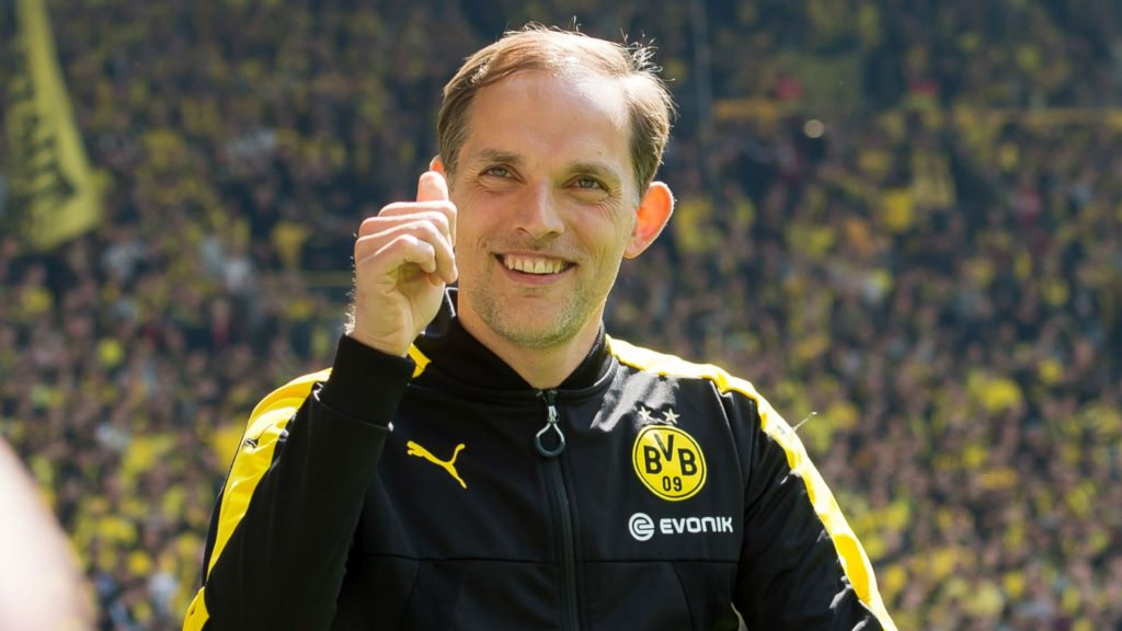 Thomas Tuchel, the new manager for Ligue 1 champions PSG
