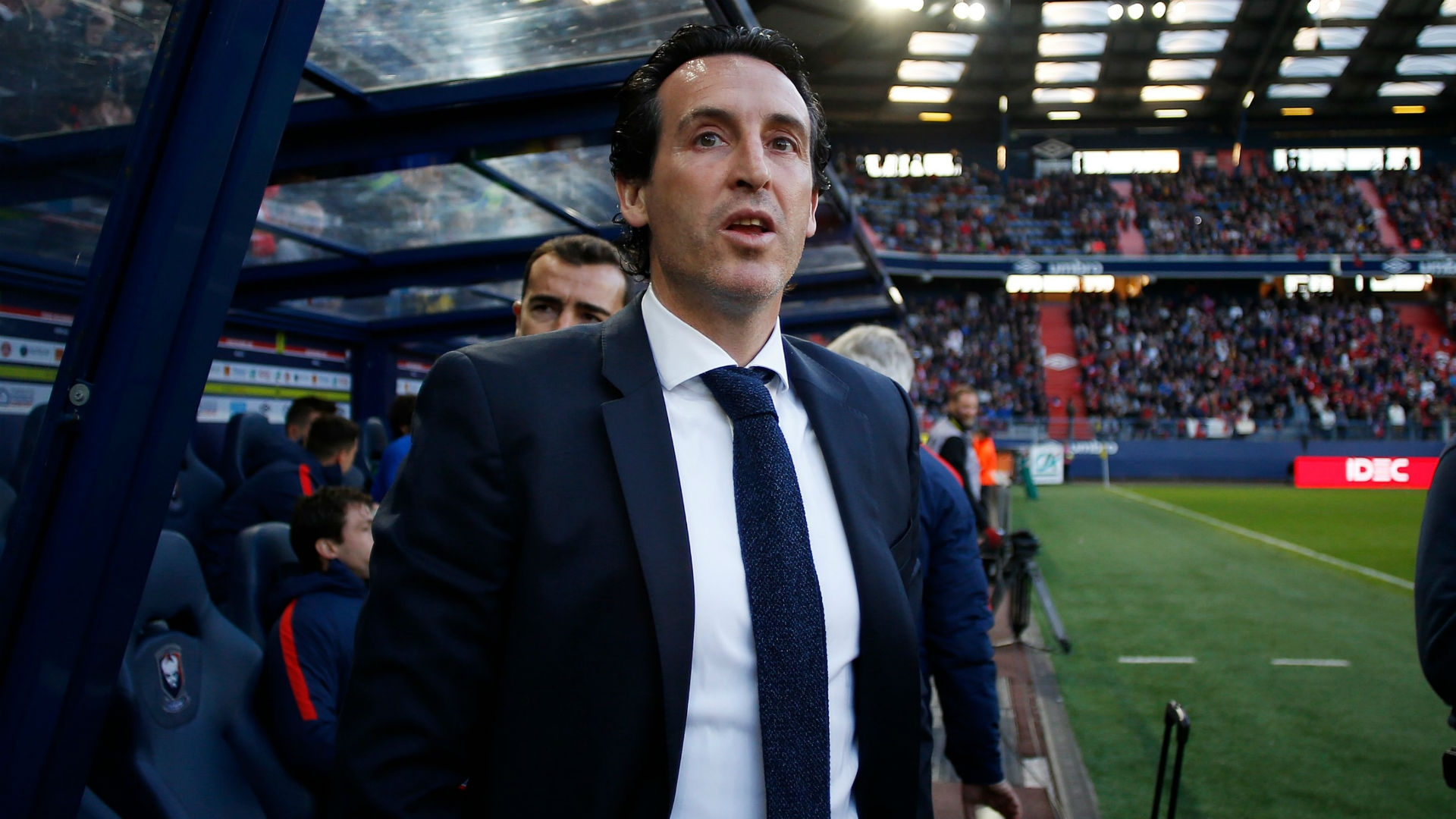 Unai Emery, formerly of PSG