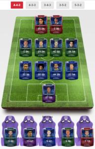 Free DUP 25 team