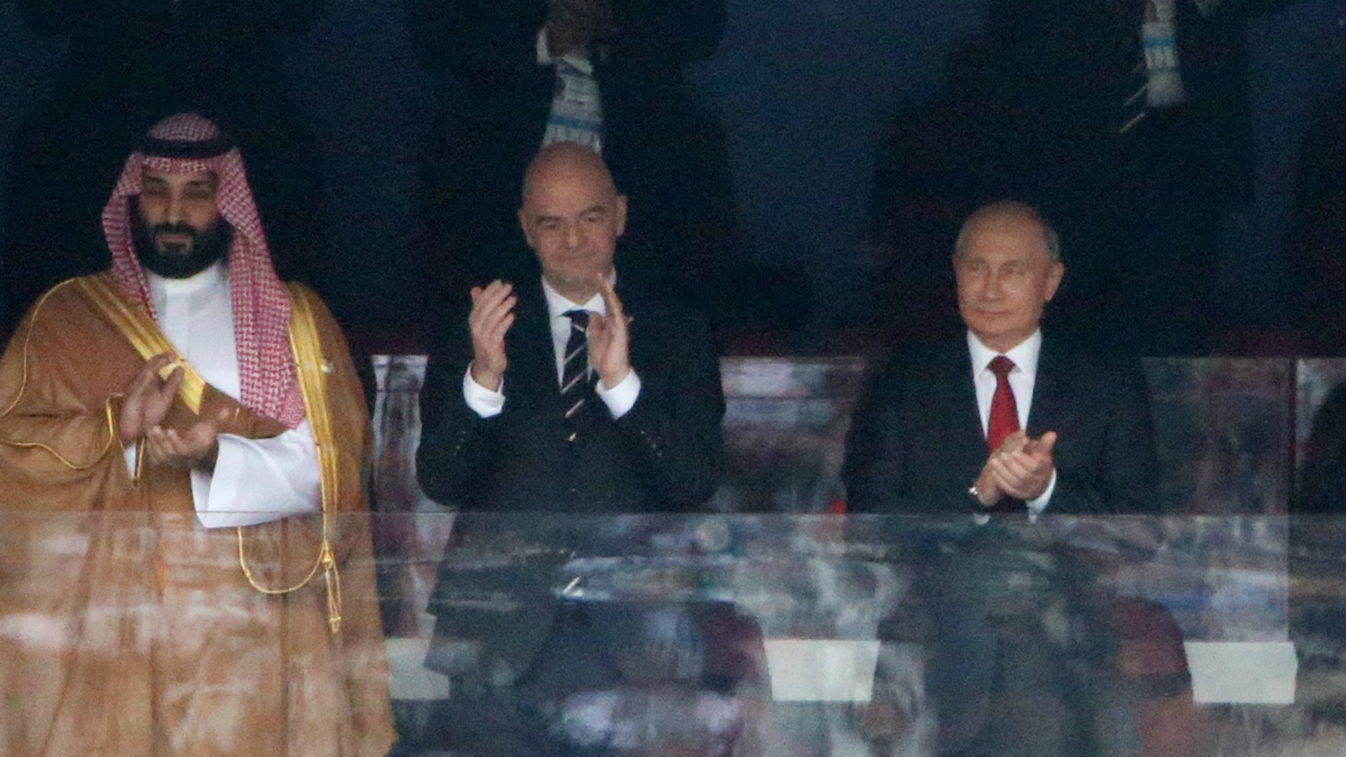 Putin thrilled