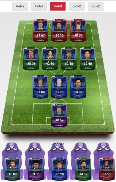 Winning Team FootballCoin 19.06