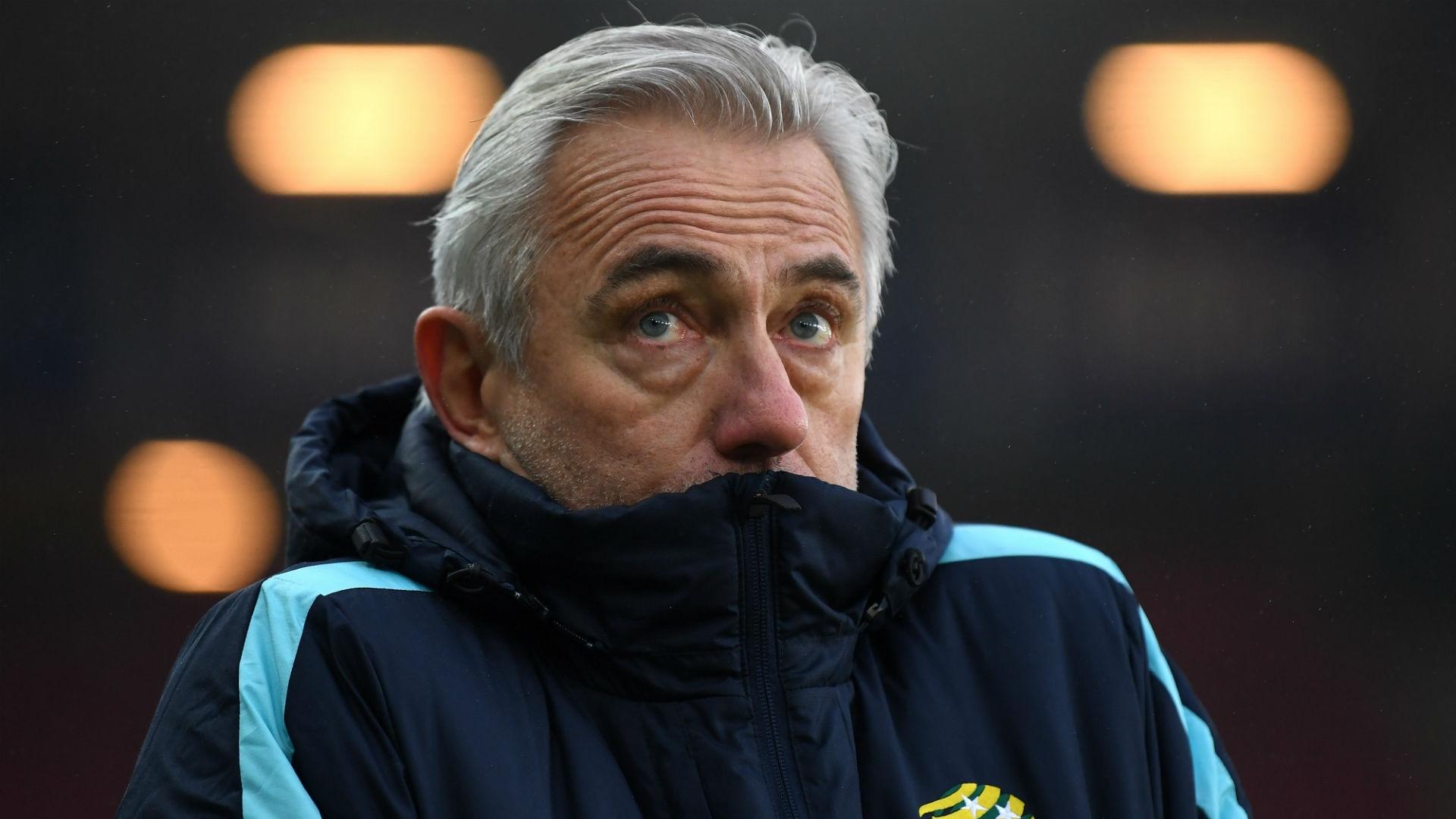 Bert van Marwijk - Australia coach