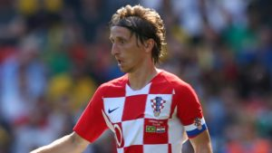 Luka Modric (Croatia) - Real Madrid
