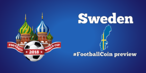 Sweden's flag - World Cup p