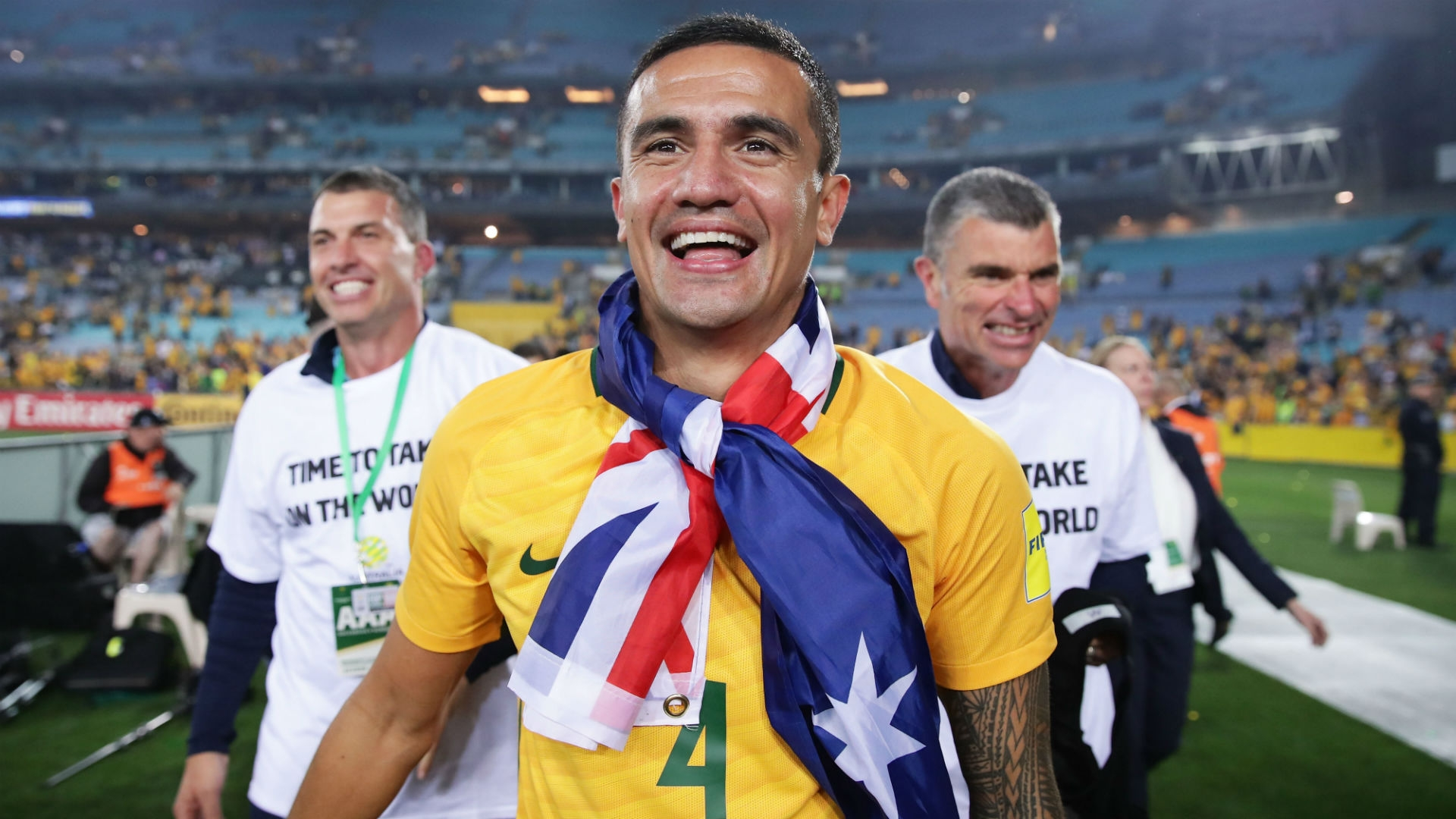 Tim Cahill - Australia's captain
