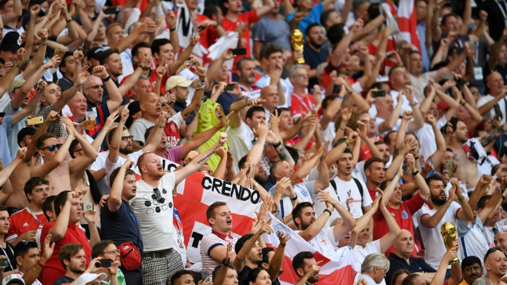England fans #ITSComingHome World Cup footballcoin